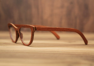 Cat Eyes Sapeli | Wooden Sunglasses | Wood Prescription Frame | QQ frames
