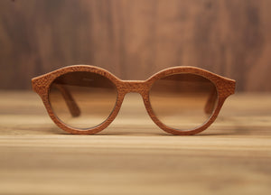 Cigar Mandala | Wooden Sunglasses | Wood Prescription Frame | QQ frames
