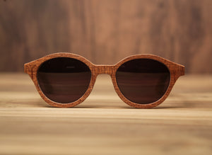 Cigar Sapeli | Wooden Sunglasses | Wood Prescription Frame | QQ frames