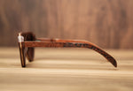 Elixir Sapeli with gears | Wooden Sunglasses | Wood Prescription Frame | QQ frames