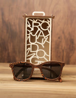H- Field  | Wooden Sunglasses | Wood Prescription Frame | QQ frames
