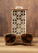 Weed Smoked Oak | Wooden Sunglasses | Wood Prescription Frame | QQ frames