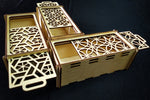 Wooden Slider Box - Qreative Qick Boxes | Storage box | Wooden box | Customized box