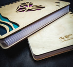Heart Notebook - Wooden Diary | Wooden Notebook |  Wooden Personalized notebook | A5 diary | Planner | Vintage Note book
