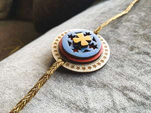 The Pleasant Daisy  - QQ Signature Rakhis