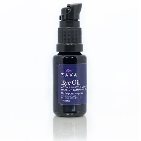ZAYA Eco skincare| Natural anti-aging eye oil tretment