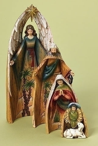 Nesting Nativity Set