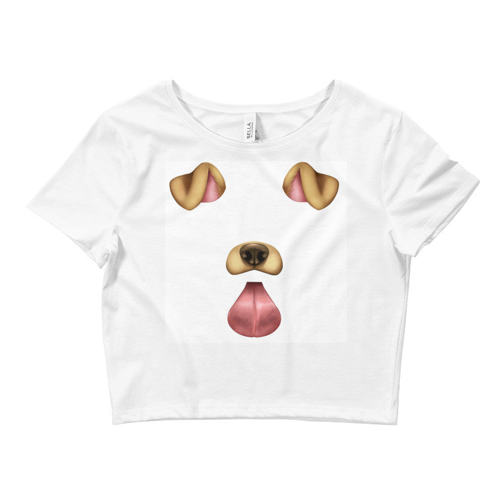 Women's Dog Filter Crop Tee