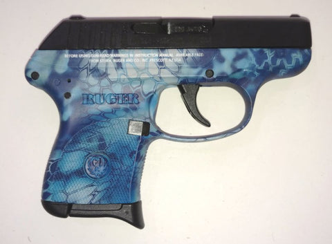 Ruger LCP with Blue Kryptek - NEW