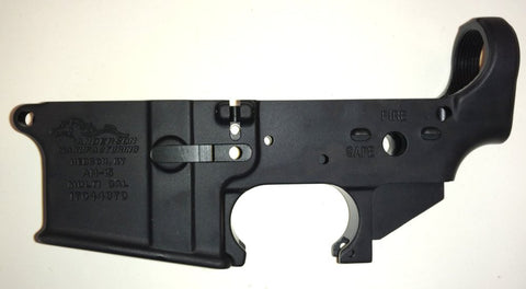Anderson Stripped AR15 Lower Receiver Open Trigger - NEW