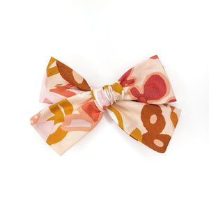 Autumn Floral Hair Bow
