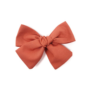 Terracotta Hair Bow