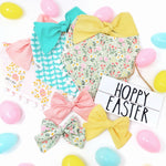 Load image into Gallery viewer, Easter Floral Dog Bandana