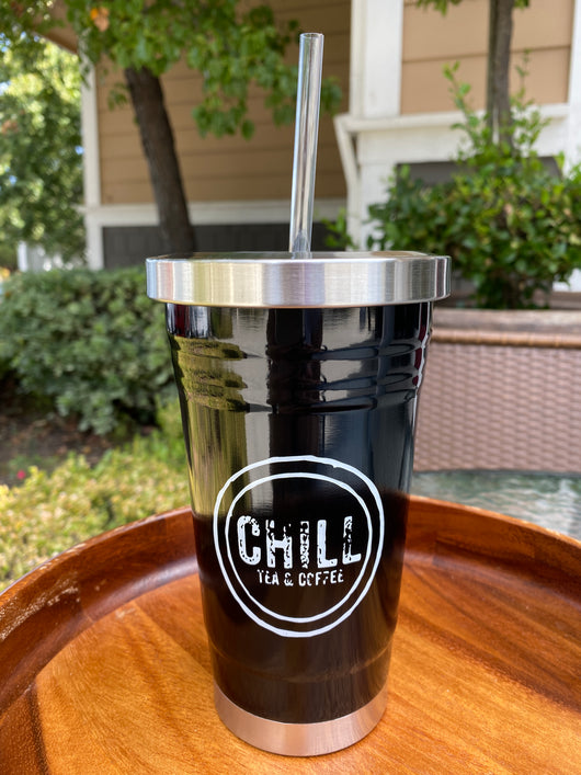 Stainless Steel Tumbler - Black