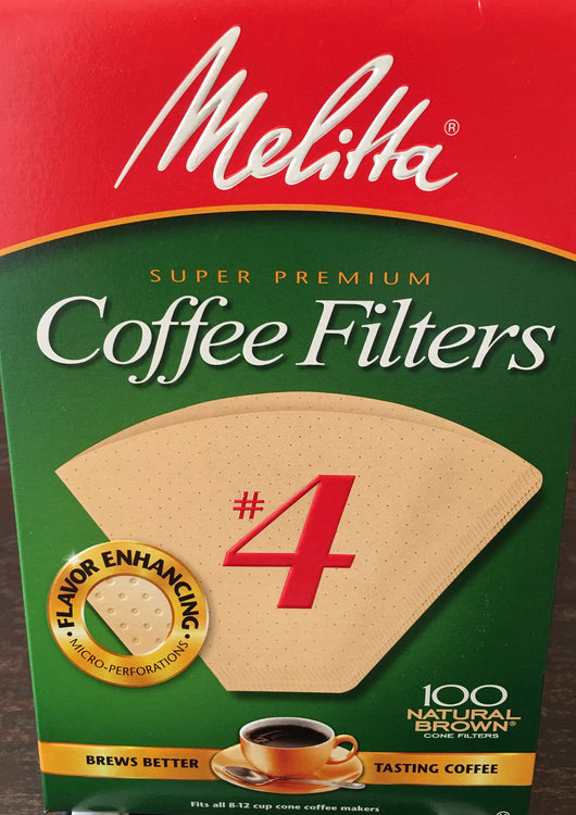 Coffee Filters - Melitta #4