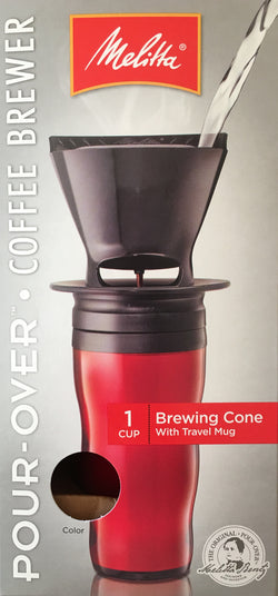 Pour Over Coffee Brewer with Travel Mug