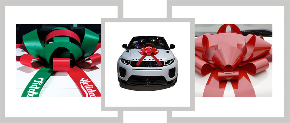 Holiday Car Bows Equal Festive Showrooms