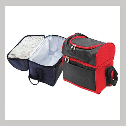 Hot and Cold cooler bags Red and Black
