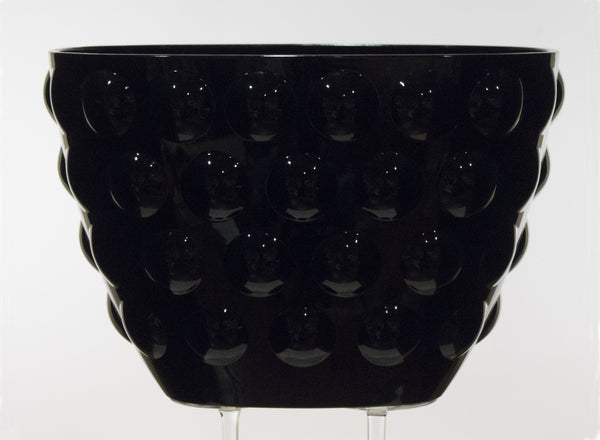 Italesse Bolle Small Bowl in Black Acrylic