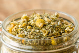 Rest Easy Loose Leaf Herbal Tea From American Tea & Spice Closest Look