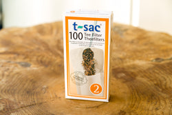 T-sac Loose Leaf Tea Filters From American Tea & Spice
