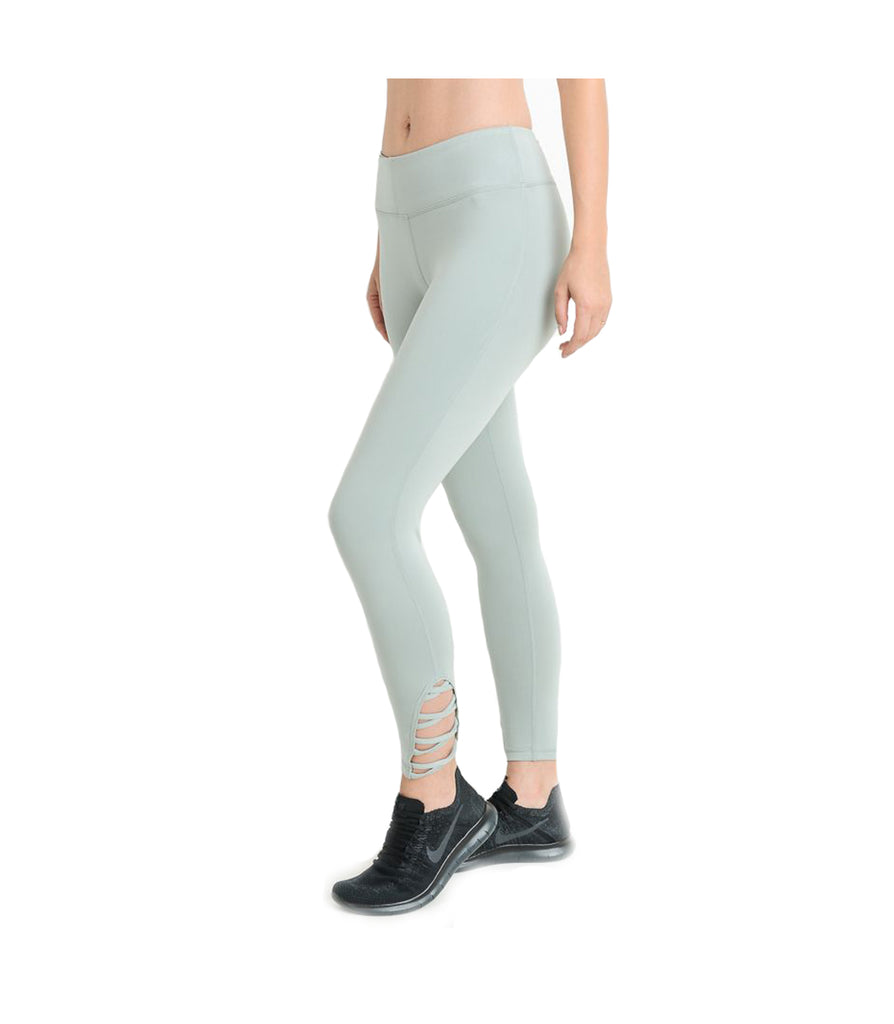 Criss Cross Performance Leggings Mint