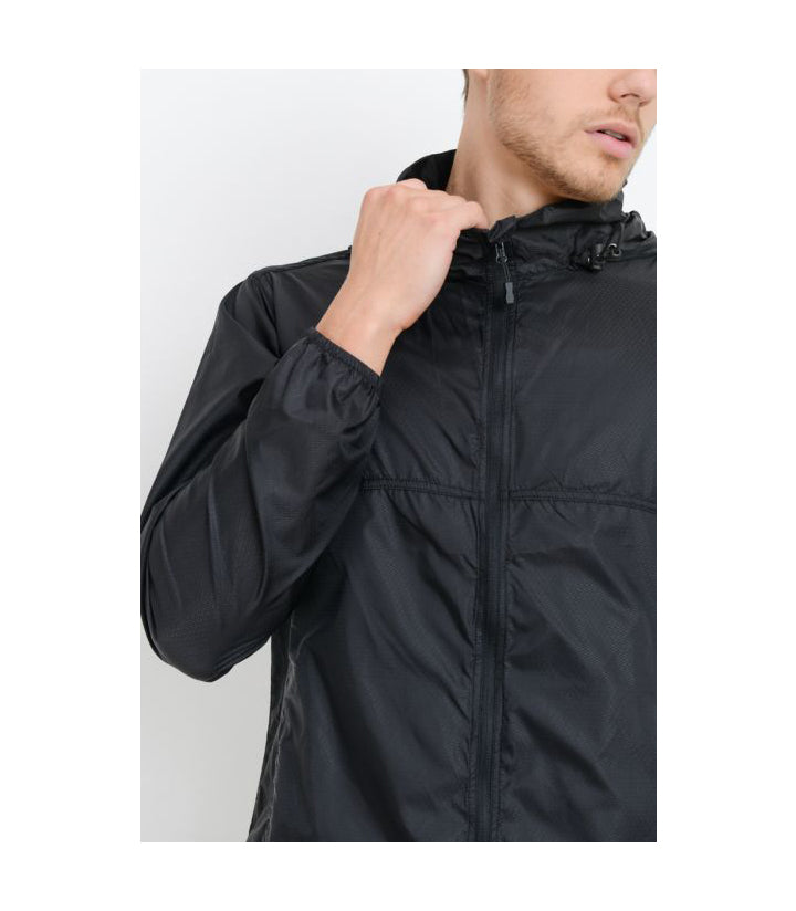 Tactical Split Seam Jacket Black