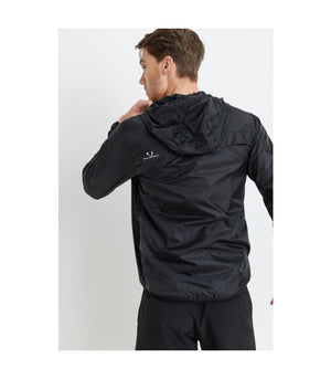 Tactical Pullover Split Jacket Black
