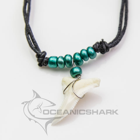 Shark teeth necklace spider man goblin green c142