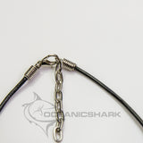 Tiger shark leather necklace Australia sale c193