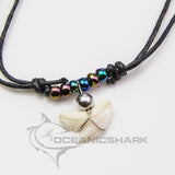Tiger shark tooth necklace rainbow unicorn party favour gift c88