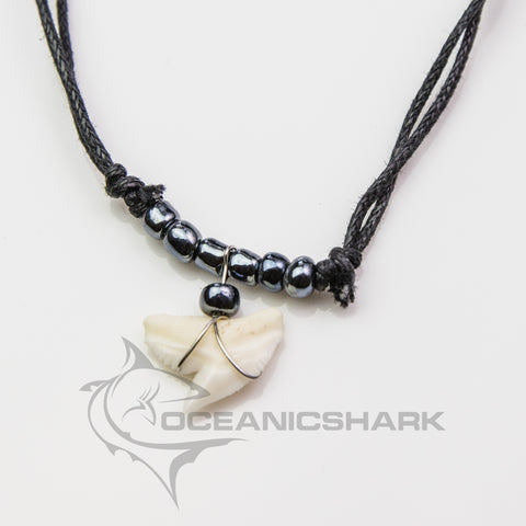 Tiger shark attack teeth necklace apex predator tropical c90