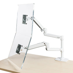 LX Dual Stacking Monitor Arm by Ergotron - Office & Others