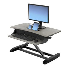 WorkFit-Z Mini Sit/Stand Desk Solution - Office & Others