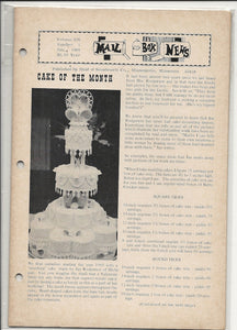 01 00 1969 Mail Box News Cake of the Month
