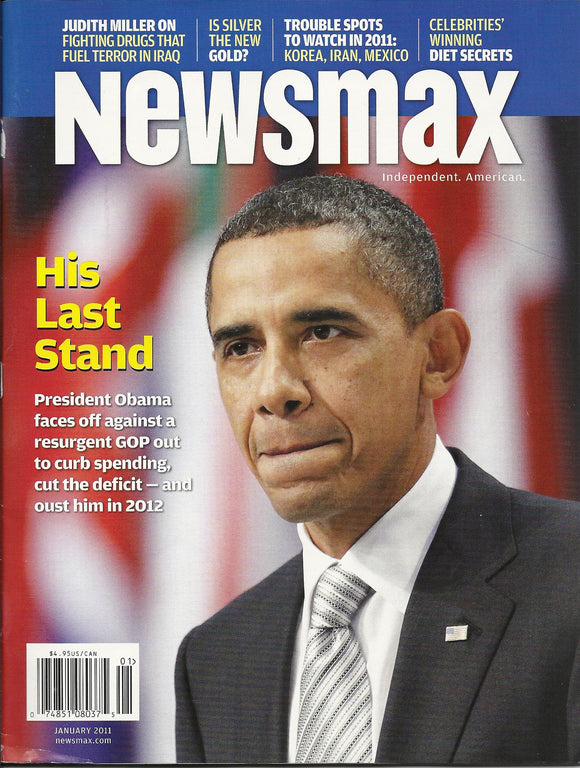 01 00 2011 OBAMA Newsmax Magazine