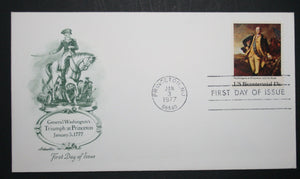 01 03 1977 FDC George Washington