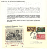 01 06 1986 FDC WH Army Petitions Congress for Back Pay