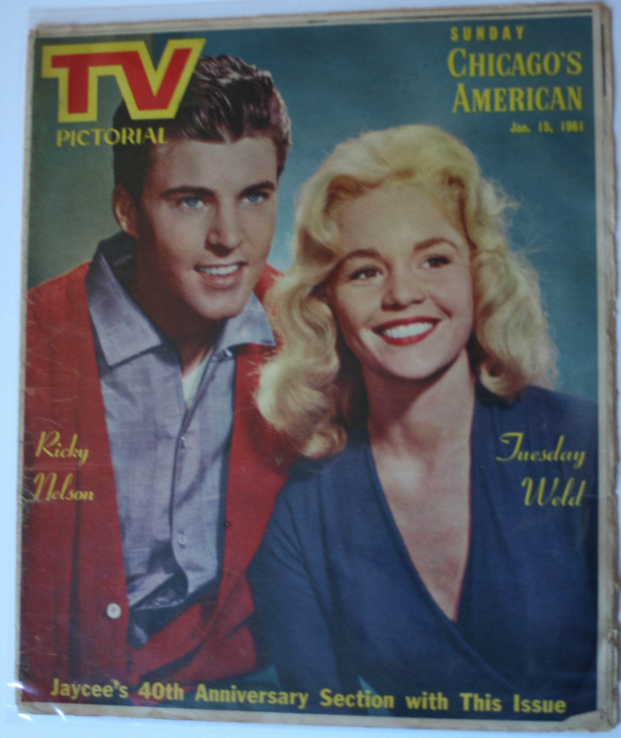 01 15 1961 TV Ricky Nelson - Tuesday Weld