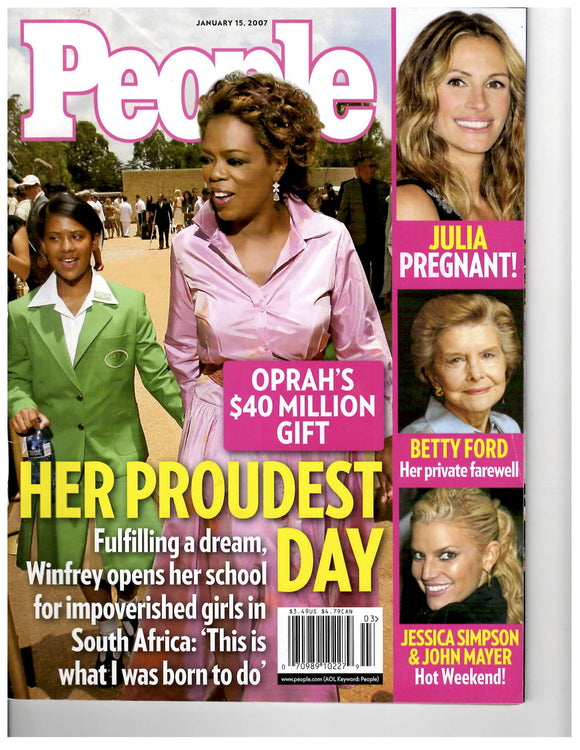 01 15 2007 People Oprah Winfrey