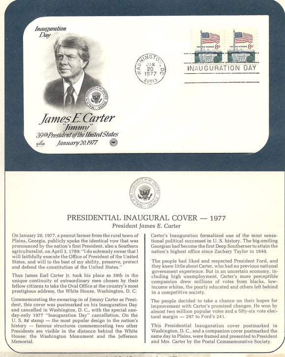 01 20 1977 James E Carter Inauguration Day