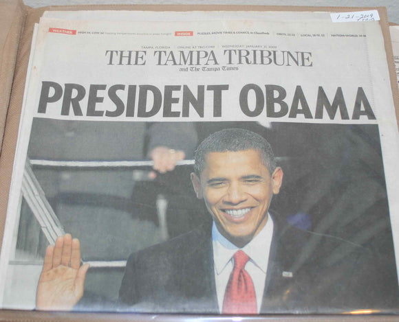01 21 2009 Obama Tampa Tribune