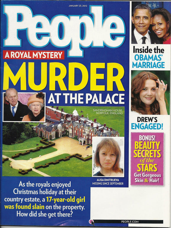 01 23 2012 People A Royal Mystery Murder at the Palace