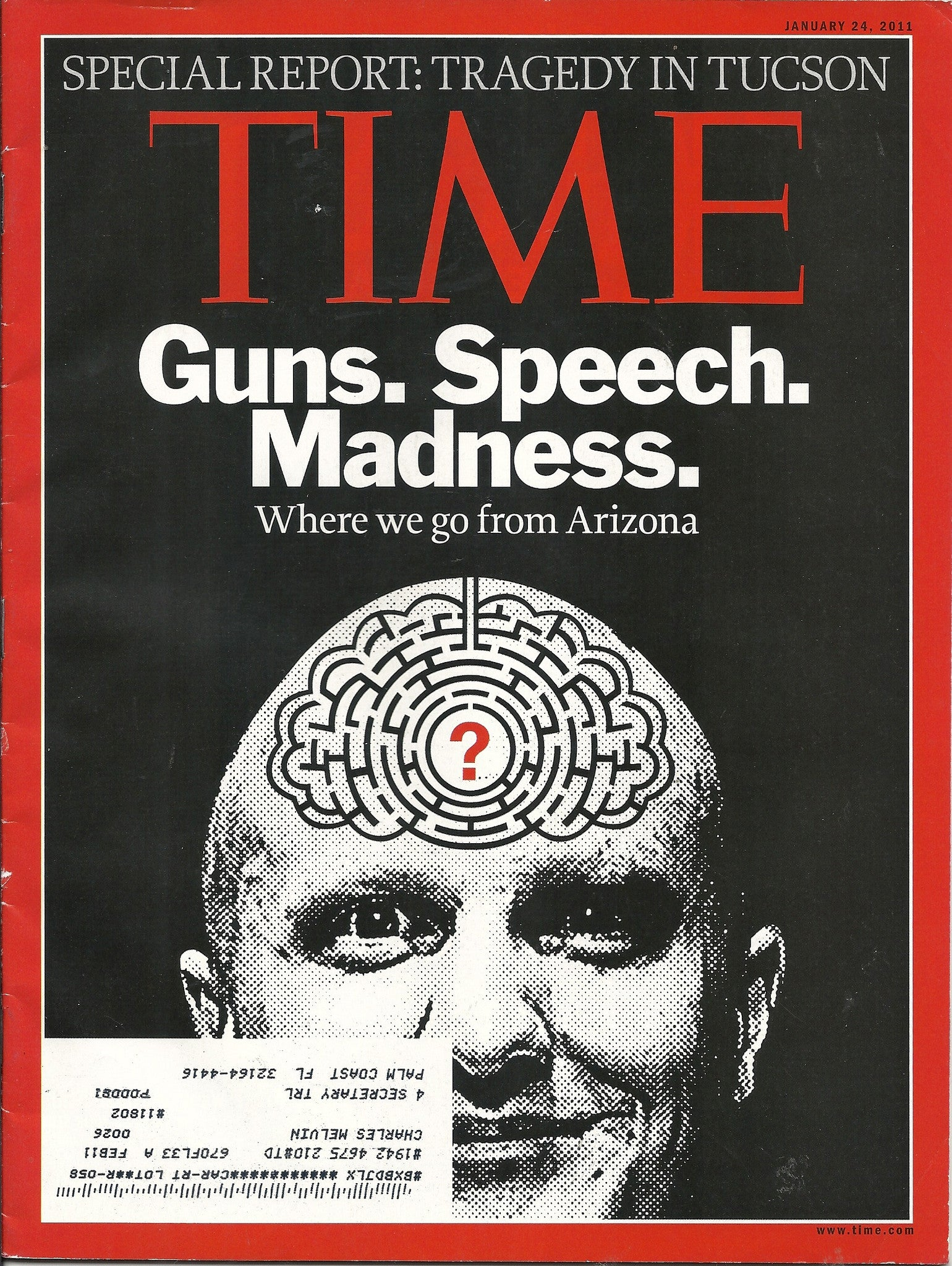 01 24 2011 Time Gun Speech Madness