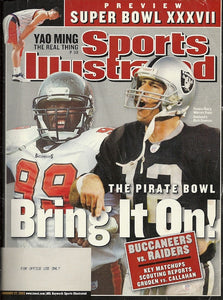 01 27 2003 Sports Illustrated Buccaneers vs Raiders
