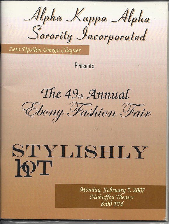 02 05 2007 AKA 49th Annual Ebony Fashion Fair