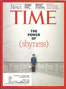 02 06 2012 Time Magazine The Power of Shyness