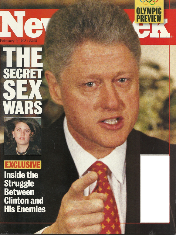 02 09 1998 Newsweek Bill Clinton