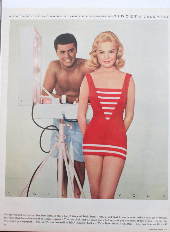 04 23 1942 BD Sandra Dee * James Darren