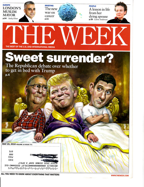 05 20 2016 The Week Donald Trump